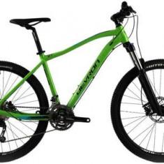 Bicicleta MTB Devron Riddle M3.7, Cadru M 460mm, Roti 27.5inch, 27 viteze, Frane hidraulice pe disc (Verde)