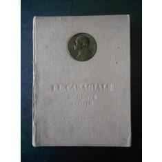 ION LUCA CARAGIALE - MOMENTE SI SCHITE (1952, ilustratii de Eugen Taru)