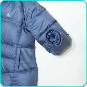 DE FIRMA→ Geaca iarna, dama, puf gâscă, usoara, ADIDAS→ femei | marimea D 40 (L)