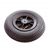 Roată Trotinetă Oxelo MF Dirt 200 mm Negru