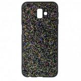 Husa Disco Glitter pentru Samsung Galaxy S10 Plus, TPU, Black