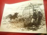 Fotografie din Film - Sinbad Marinarul , dim.= 23,5x17,5 cm