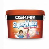 Vopsea lavabila pentru interior Oskar Superweiss 8.5 L