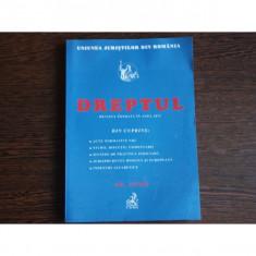 DREPTUL, UNIUNEA JURISTILOR DIN ROMANIA