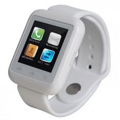 Smartwatch iUni U900i Plus, Bluetooth, LCD 1.44 Inch, Alb