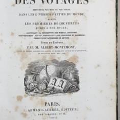 BIBLIOTHEQUE UNIVERSELLE DES VOYAGES. TOME XXXVI par M. ALBERT-MONTEMONT - PARIS, 1825