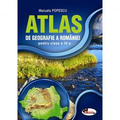 Atlas Geografia Romaniei cls a IV-a