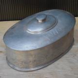 Cumpara ieftin BOMBONIERA FOARTE VECHE DIN COSITOR - ANUL 1770 INSCRIPTIONAT PE EA