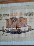 Egipt papirus Corabia faraonului