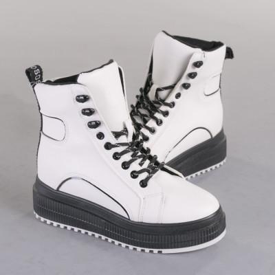 Pantofi sport dama Madona albi foto