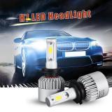 Set 2 Bec H7 led Canbus pentru far auto putere 72W, luminozitate 16000 Lm, 12/24V