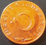 Moneda 5 KURUS - TURCIA, anul 1970   *cod 3914, Europa