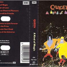 Caseta Queen – A Kind Of Magic, originala, sigilata