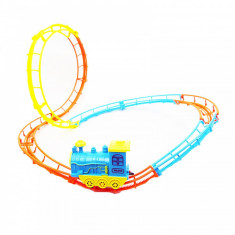 Trenulet cu baterii si linii configurabile