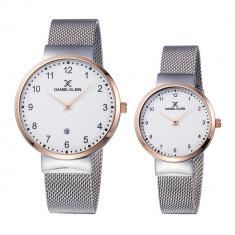 Set ceasuri pentru dama si barbati, Daniel Klein Pair, DK11977-2