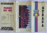 PLIANT CSA STEAUA BUCURESTI 1982