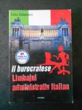 OANA SALISTEANU - LIMBAJUL ADMINISTRATIV ITALIAN