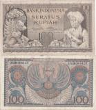 1952 , 100 rupiah ( P-46 ) - Indonezia