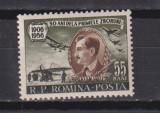 50 DE ANI DE LA PRIMUL ZBOR - TRAIAN VUIA LP. 411 MNH, Nestampilat