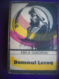 HOPCT  DOMNUL LECOQ / EMILE GABORIAU 1986 - 492  PAGINI