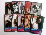Cumpara ieftin Lot cartonase Mega Music Mega Image - 14 bucati - ( 3 cu autograf )