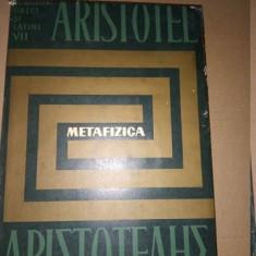 ARISTOTEL - METAFIZICA (1965, 481 p.)