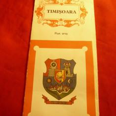 Harta si Ghidul Turistic al orasului Timisoara 1974