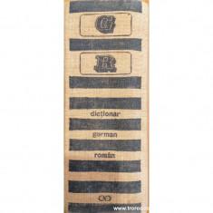 Dictionar german roman
