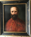 Portret de episcop semnat Aman