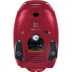 Aspirator cu sac ESP73RR, 650 W, filtru Hygiene, 3.5 l, rosu