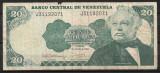 Venezuela - 20 bolivares - 1992 (B0201) - starea care se vede
