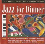 CD Jazz For Dinner, original: Ella Fitzgerald, Nat King Cole, Louis Amstrong