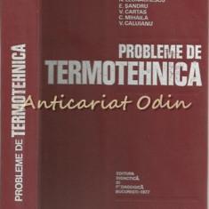 Probleme De Termotehnica - N. Leonachescu - Tiraj: 6380 Exemplare