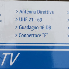 Antena digitala TV marca GBS