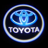 Set 2 Lampi Proiectoare Led Logo Universale TOYOTA(cu baterii)