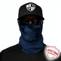 Bandana/Face Shield/Cagula/Esarfa - Tactical | Navy Skull, made in USA
