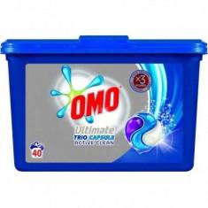 Detergent capsule Omo Ultimate Active Clean Trio caps, 40 capsule