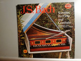 Bach – Sonatas for Flute & Cembalo (1978/Somerset/RFG) - VINIL/NM
