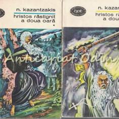 Cumpara ieftin Hristos Rastignit A Doua Oara I, II - Nikos Kazantzakis