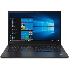 Laptop Lenovo 15.6'' ThinkPad E15, FHD IPS, Intel Core i7-10510U, 16GB DDR4, 512GB SSD, GMA UHD, Win 10 Pro, Black