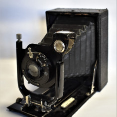 Aparat vechi de fotografiat cu burduf AGC Schneider Kreuznach Radionar cca. 1900