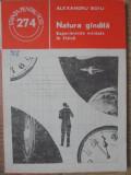 NATURA GANDITA. EXPERIMENTE MINTALE IN FIZICA-ALEXANDRU BOIU