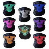 Masca protectie fata craniu, culoare rosie, paintball, ski, motociclism,airsoft