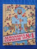 Almanahul Copiilor 1984 / benzi desenate - Escadrila nemuritoare - Poveste iarna, Alta editura, 1983
