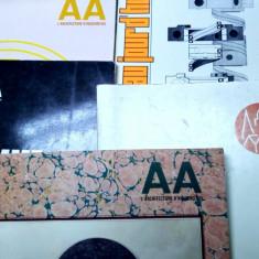 lot carte veche rara 5 numere din anii 60 arhitectura 1000 pag circa 5kg
