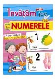 Învățăm prin joc Numerele. Cărți de joc educative (+3 ani)