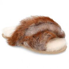 Papuci Femei Emu Mayberry Lava W12378CHESTNUT