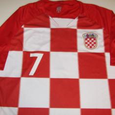 Tricou fotbal CROATIA - nr. 7 jucatorul RAKITIC, XL, Din imagine, Nationala