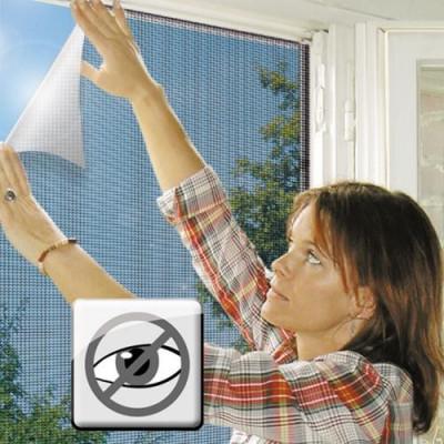 Plasa cu adeziv arici pentru ferestre impotriva insectelor dimensiune maxima 140x140 cm foto