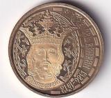 Romania 50 Bani 2011 (Mircea cel Batran) 23.75 mm, Proof, KM-260 UNC !!!